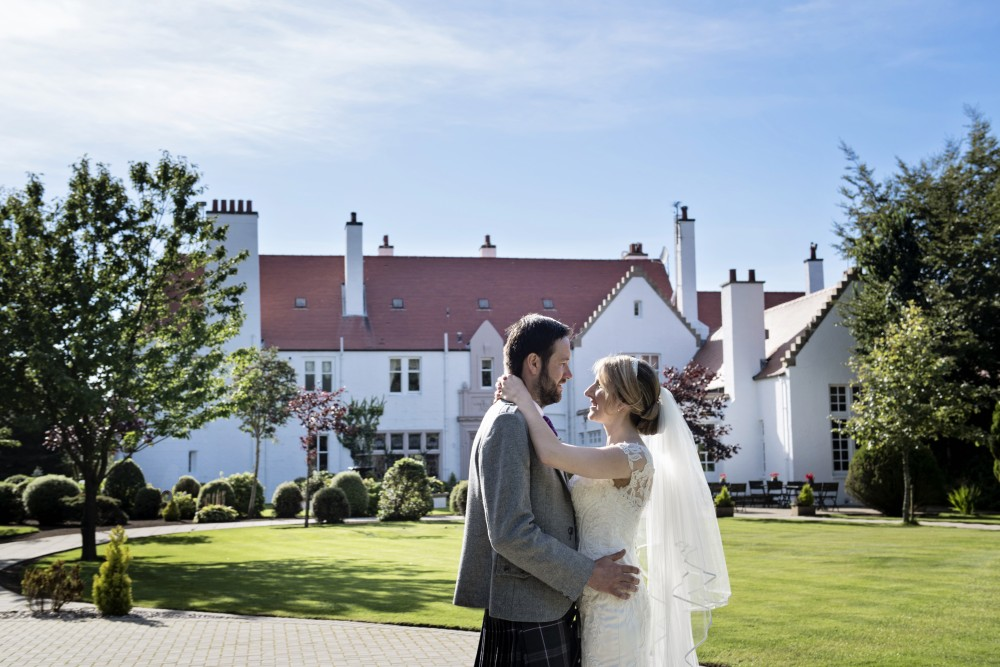 Special late availability wedding package at Lochgreen House Hotel