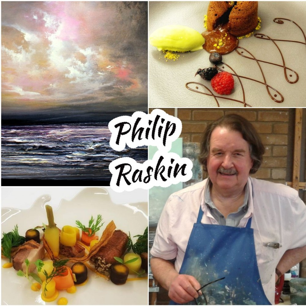 Art Demonstration & Lunch with Philip Raskin
